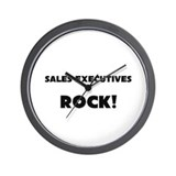 Sales Executives ROCK Wall Clock