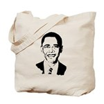 Barack Obama screenprint Tote Bag