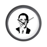 Barack Obama screenprint Wall Clock