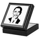 Barack Obama screenprint Keepsake Box