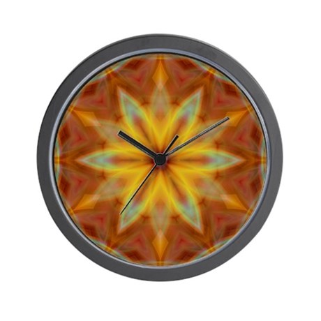 Emperor's Fire Wall Clock