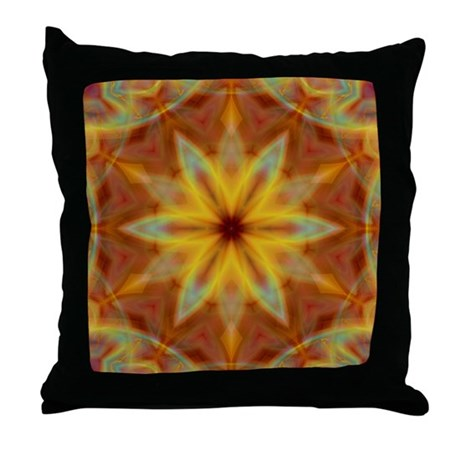 Emperor's Fire Throw Pillow