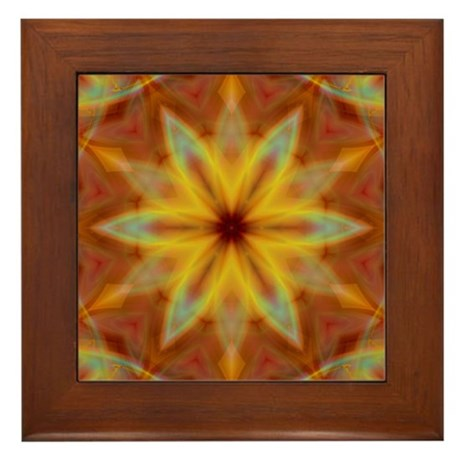 Emperor's Fire Framed Tile