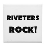 Riveters ROCK Tile Coaster