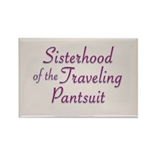 Sisterhood of the Traveling P Rectangle Magnet (10