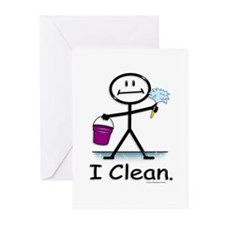 BusyBodies Cleaning Greeting Cards (Pk of 10)