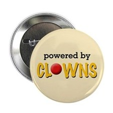Powered By Clowns Button