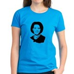 Michelle Obama screenprint Women's Dark T-Shirt
