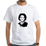 Michelle Obama screenprint White T-Shirt