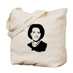 Michelle Obama screenprint Tote Bag