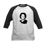 Michelle Obama screenprint Kids Baseball Jersey