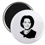 Michelle Obama screenprint Magnet