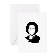 Michelle Obama screenprint Greeting Card