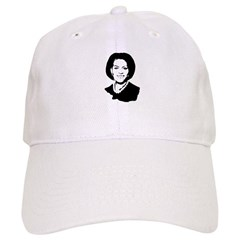 Michelle Obama screenprint Cap