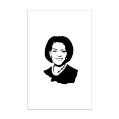 Michelle Obama screenprint Posters