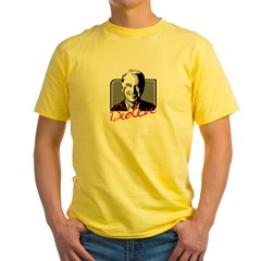 OBAMA BIDEN 2008 Yellow T-Shirt