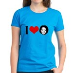 I Heart Michelle Obama Women's Dark T-Shirt