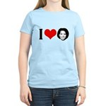 I Heart Michelle Obama Women's Light T-Shirt