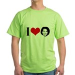 I Heart Michelle Obama Green T-Shirt
