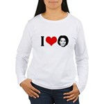 I Heart Michelle Obama Women's Long Sleeve T-Shirt