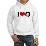 I Heart Michelle Obama Hooded Sweatshirt