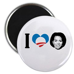"I Love Michelle Obama 2.25"" Magnet (100 pack)"