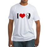 I heart Joe Biden Fitted T-Shirt