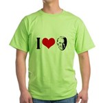I heart Joe Biden Green T-Shirt