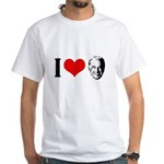 I heart Joe Biden White T-Shirt