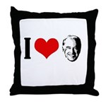 I heart Joe Biden Throw Pillow