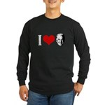 I Love Joe Biden Long Sleeve Dark T-Shirt