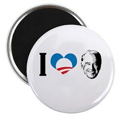 """I Love Joe Biden 2.25"""" Magnet (10 pack)"""