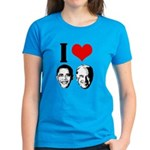 I Heart Obama Biden Women's Dark T-Shirt