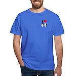 I Heart Obama Biden Dark T-Shirt