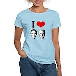 I Heart Obama Biden Women's Light T-Shirt