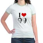 I Heart Obama Biden Jr. Ringer T-Shirt