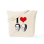 I Heart Obama Biden Tote Bag