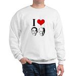 I Heart Obama Biden Sweatshirt