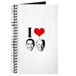 I Heart Obama Biden Journal