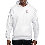 I Heart Obama Biden Hooded Sweatshirt