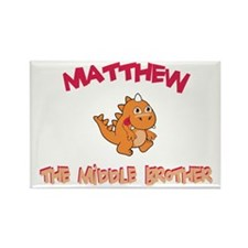 Matthew - Middle Brother Rectangle Magnet