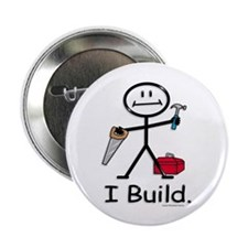 "BusyBodies Construction 2.25"" Button (10 pack)"