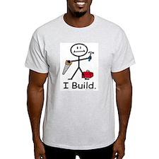 BusyBodies Construction Ash Grey T-Shirt