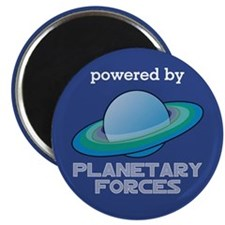 Powered By Planetary Forces Magnet