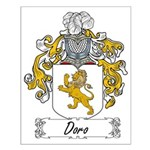 Doro Family Crest Small Poster