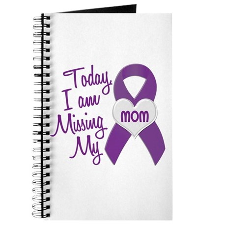 Missing My Mom 1 PURPLE Journal