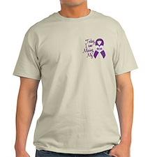 Missing My Mom 1 PURPLE T-Shirt