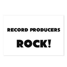 Record Producers ROCK Postcards (Package of 8)