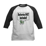 Batteries Not Included -  Kids Baseball Jersey