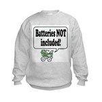 Batteries Not Included -  Kids Sweatshirt